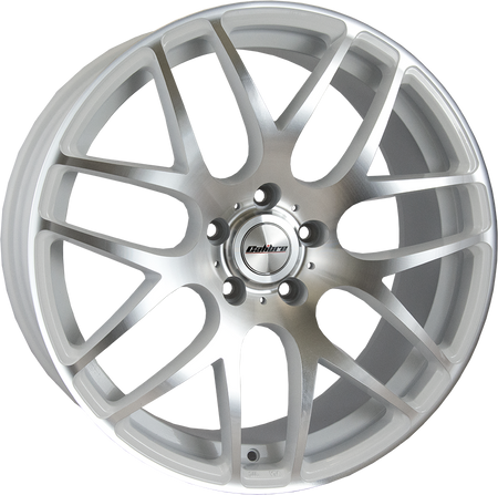 Calibre - Exile-R, 20 x 8.5 inch, 5x120 PCD, ET45, White / Polished Face Single Rim