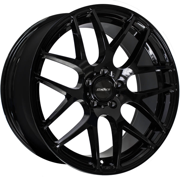 Calibre - Exile-R, 20 x 8.5 inch, 5x120 PCD, ET45, Gloss Black Single Rim