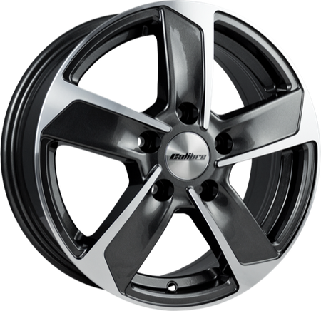 Calibre - Freeway, 16 x 6.5 inch, 5x118 PCD, ET45, Gunmetal Polished Single Rim