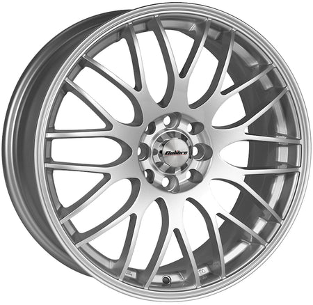 Calibre - Motion, 17 x 7 inch, 4x100 PCD, ET40, Silver Single Rim