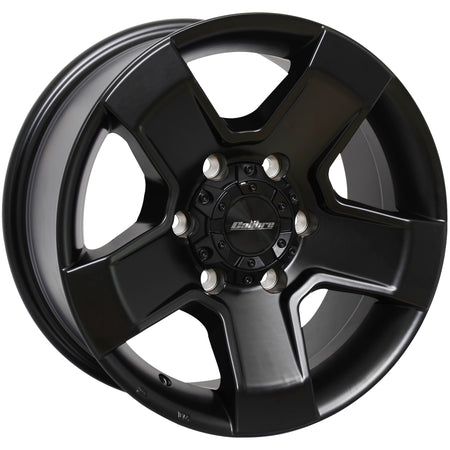 Calibre - Outlaw, 18 x 8 inch, 6x139.7 PCD, ET20, Matt Black Single Rim