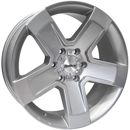 Calibre - Outlaw, 16 x 8 inch, 6x139.7 PCD, ET20, Silver Single Rim
