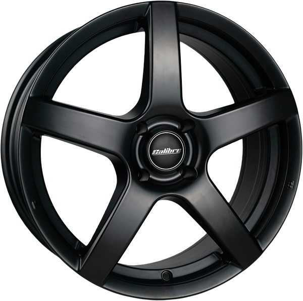 Calibre - Pace, 17 x 7 inch, 5x114.3 PCD, ET40, Satin Black Single Rim