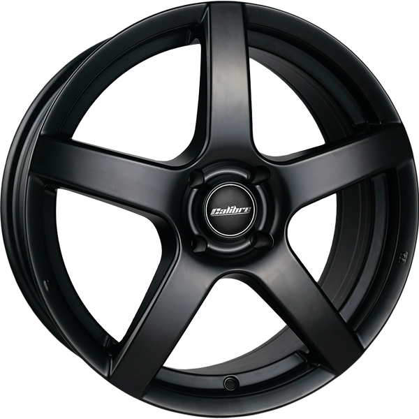 Calibre - Pace, 17 x 7 inch, 5x112 PCD, ET45, Satin Black Single Rim