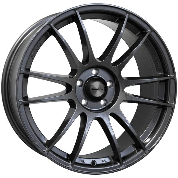 Calibre - Suzuka, 17 x 7.5 inch, 4x108 PCD, ET35, Gunmetal Single Rim
