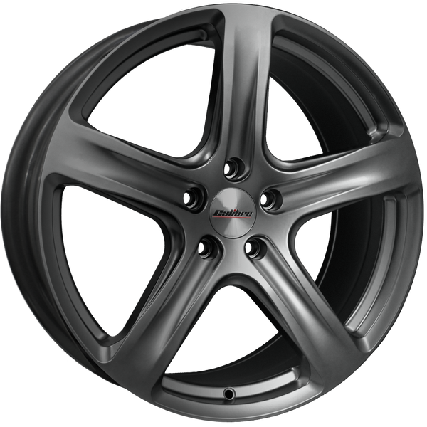 Calibre - Tourer, 18 x 8 inch, 5x114.3 PCD, ET45, Matt Gunmetal Single Rim