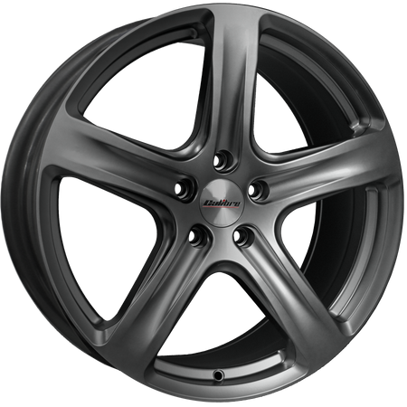 Calibre - Tourer, 18 x 8 inch, 5x120 PCD, ET45, Matt Gunmetal Single Rim