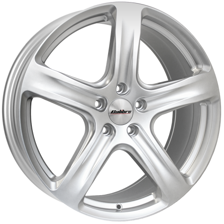 Calibre - Tourer, 18 x 8 inch, 5x120 PCD, ET45, Silver Single Rim