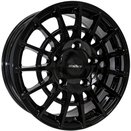 Calibre - T-Sport, 18 x 7.5 inch, 5x160 PCD, ET52, Gloss Black Single Rim