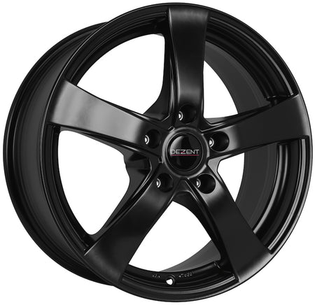 Dezent - RE Dark, 15 x 6 inch, 4x100 PCD, ET44, Matt Black Single Rim