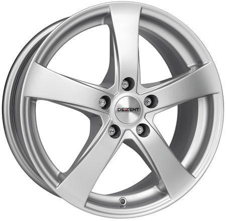 Dezent - RE, 18 x 7.5 inch, 5x120 PCD, ET45, Silver Single Rim