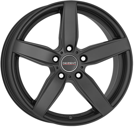 Dezent - TB Dark, 16 x 7 inch, 5x120 PCD, ET31, Matt Black Single Rim