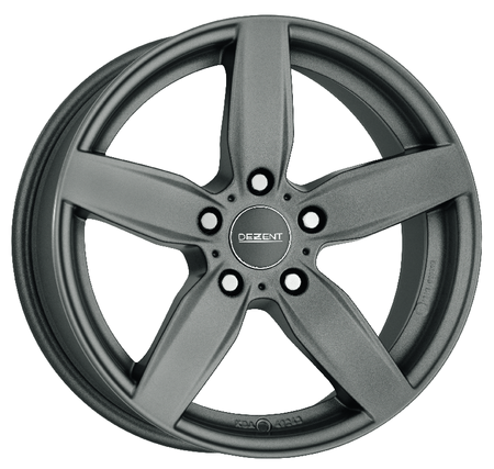 Dezent - TB Graphite, 17 x 7.5 inch, 5x112 PCD, ET52, Graphite Single Rim