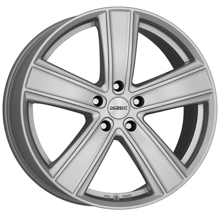 Dezent - TH, 16 x 6.5 inch, 5x120 PCD, ET51, Silver Single Rim
