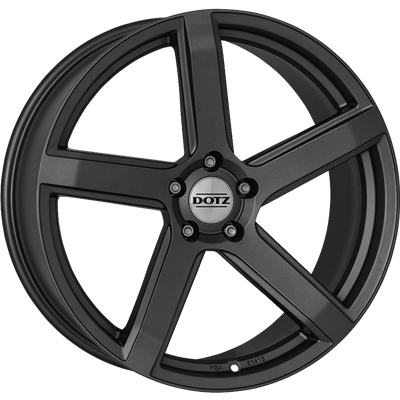 Dotz - CP5, 17 x 7 inch, 5x108 PCD, ET45, Graphite Single Rim