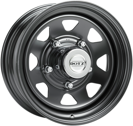 Dotz - Dakar, 16 x 7 inch, 5x114.3 PCD, ET36, Black Single Rim