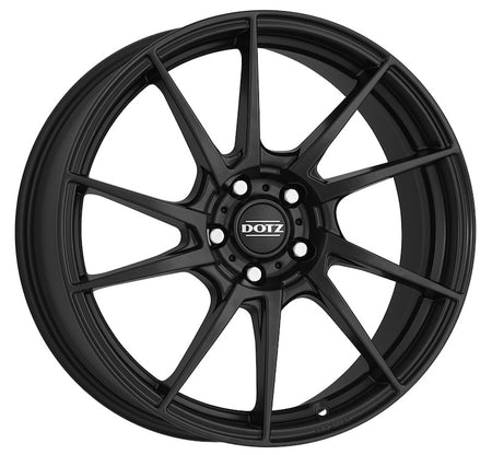 Dotz - Kendo Dark, 17 x 7 inch, 5x108 PCD, ET48, Matt Black Single Rim
