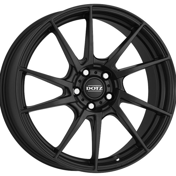 Dotz - Kendo Dark, 16 x 7 inch, 4x108 PCD, ET25, Matt Black Single Rim