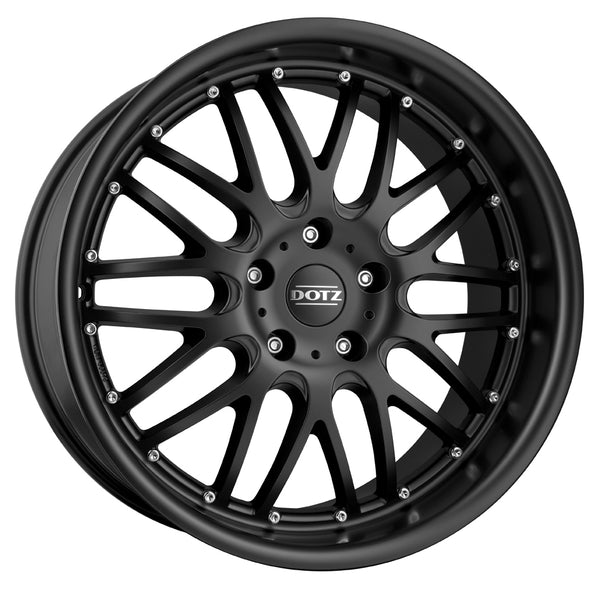 Dotz - Mugello Dark, 17 x 8 inch, 4x100 PCD, ET35, Matt Black Single Rim