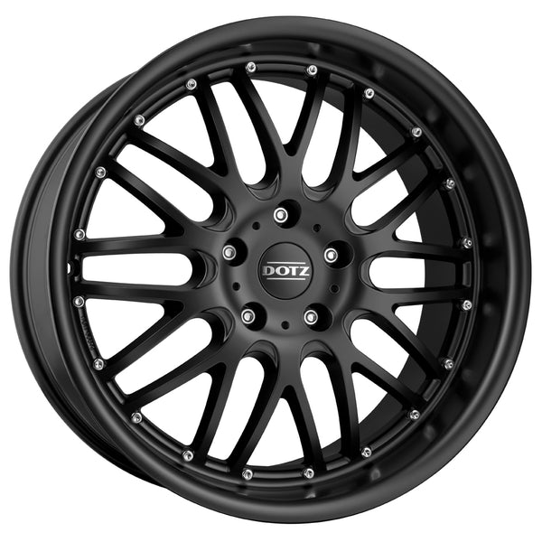 Dotz - Mugello Dark, 18 x 8 inch, 5x120 PCD, ET20, Matt Black Single Rim
