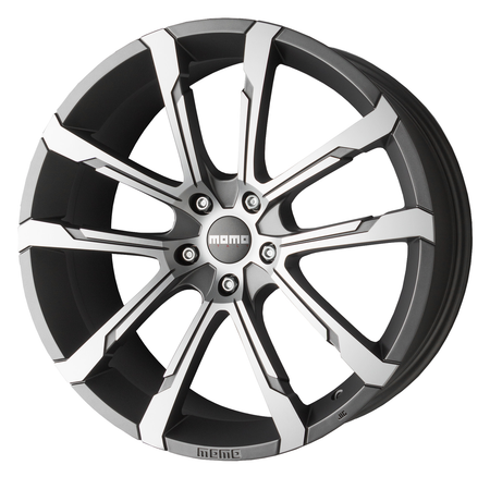 MOMO - Quantum Evo, 20 x 10 inch, 5x112 PCD, ET30, Matt Anthracite Polished Single Rim
