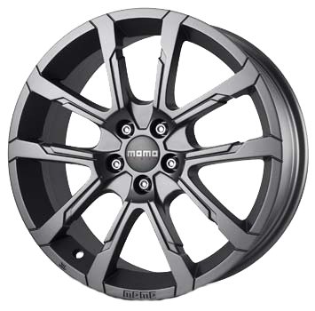 MOMO - Quantum, 17 x 8 inch, 5x112 PCD, ET35, Matt Anthracite Single Rim