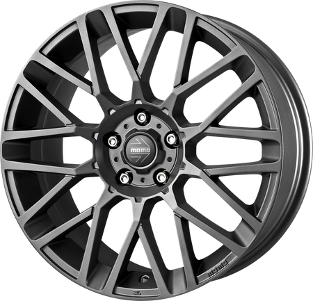 MOMO - Revenge, 16 x 7 inch, 4x108 PCD, ET18, Matt Anthracite Single Rim