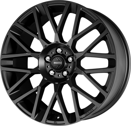 MOMO - Revenge, 15 x 6 inch, 4x108 PCD, ET23, Matt Black Single Rim