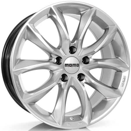 MOMO - Screamjet, 17 x 8 inch, 5x114.3 PCD, ET48, Hypersilver Single Rim
