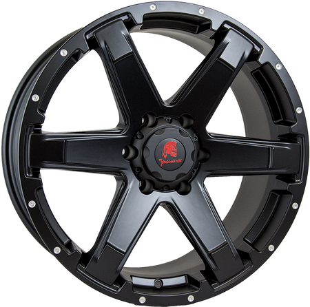 Tomahawk - Chinook, 20 x 9 inch, 6x139.7 PCD, ET18, Matt Black Single Rim