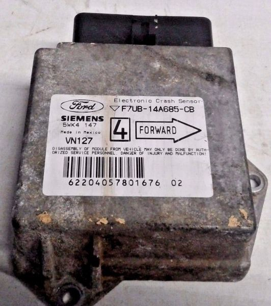 '97-'03 Ford E150 E250 Air Bag Control Module (PN: F7UB-14A685-CB)