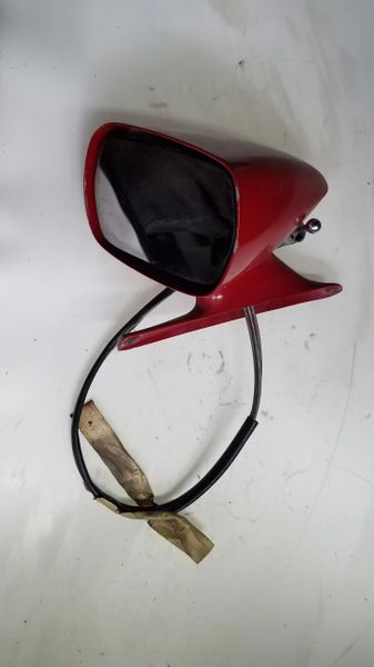 64-73 FORD MUSTANG REMOTE DRIVER SIDE VIEW MIRROR - PN: C9ZB-17743-CW