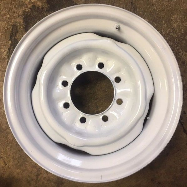 07-14 E150 92-14 E250 E350 SRW 92-97 F250 F350 SRW 16X7 IN STEEL WHEEL/STEEL RIM