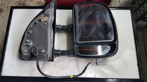 '03-'07 FORD F250 SD PASSENGER SIDE POWER HEATED TOW MIRROR