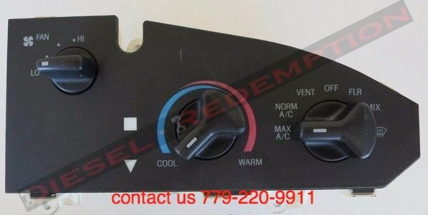 98-12 FORD VAN ECONOLINE E-250 CLIMATE CONTROL TEMPERATURE UNIT HVAC OEM FREE SHIPPING TO CONTINENTAL US ONLY