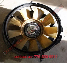 Load image into Gallery viewer, FORD 6.0 04 05 06 07 08 09 E250 E350 E450 RADIATOR FAN ASSM W SHROUD & CLUTCH FREE SHIPPING TO CONTINENTAL US ONLY