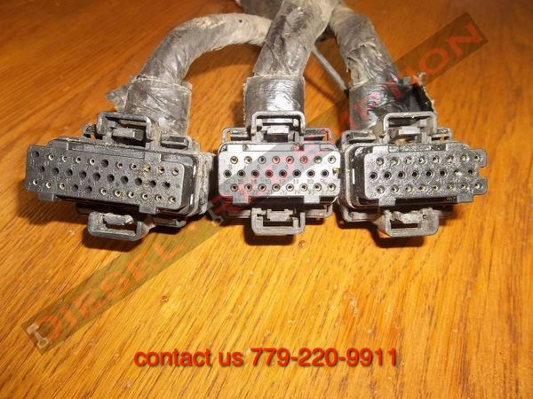 FICM CONNECTORS ALL THREE FORD 6.0 6.0L COMPLETE USED FICM CONNECTOR SET FREE SHIPPING TO CONTINENTAL US ONLY