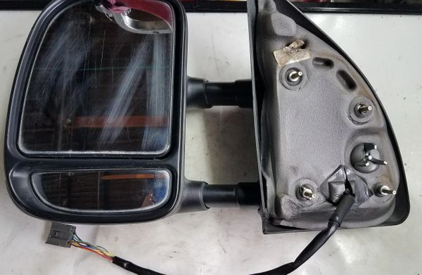 '03-'07 FORD F250 SD DRIVER SIDE POWER HEATED TOW MIRROR