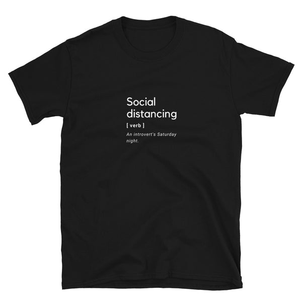 T-Shirt - Social distancing - Introverts
