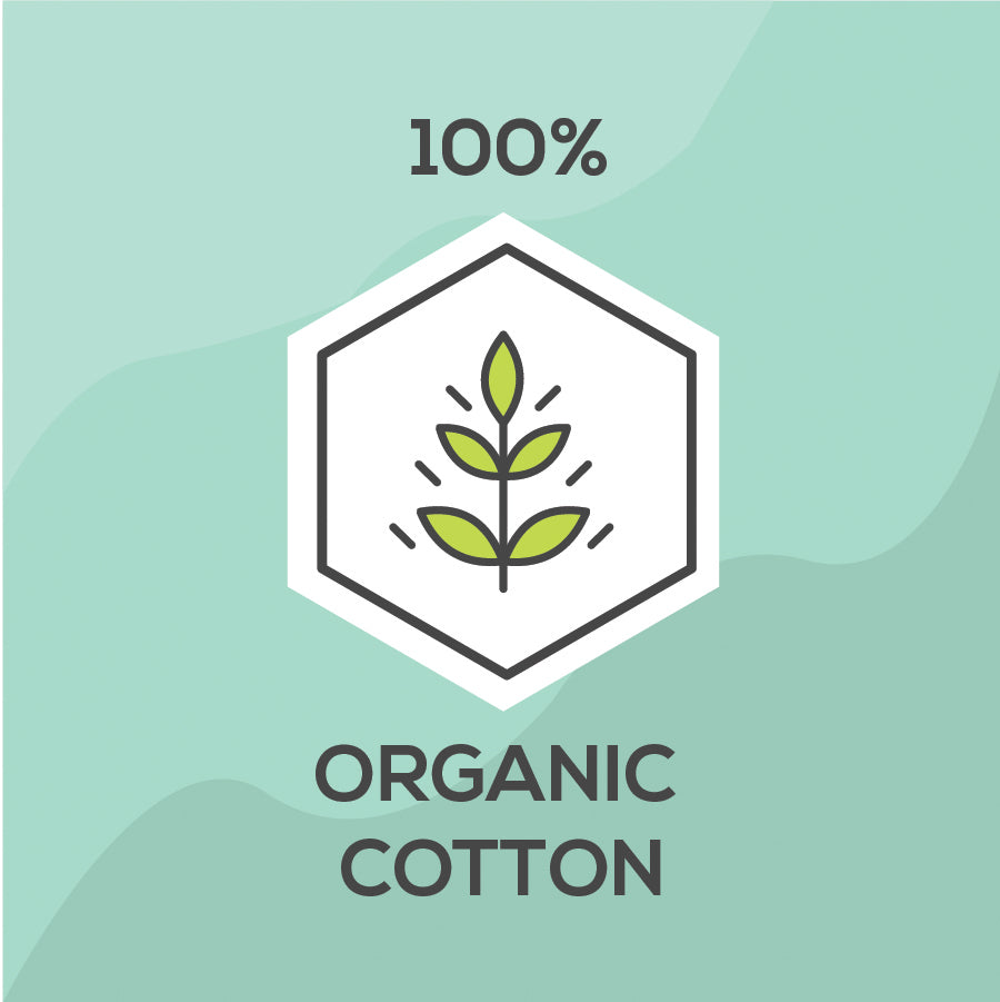 Made from 100% organic cotton