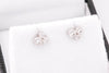 On Sale: Diamond Cluster Studs