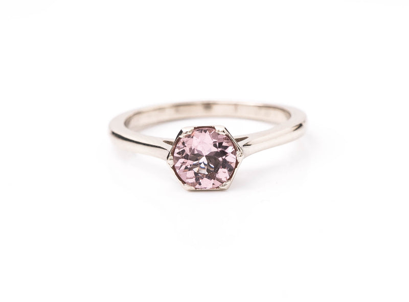 Antique Style Morganite Ring