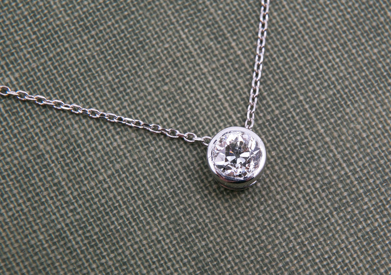 Old Cut Diamond Pendant