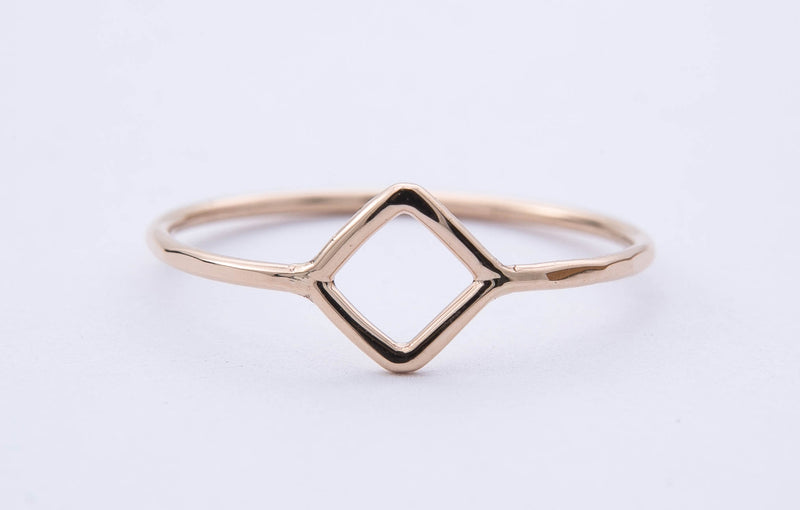 Dainty Square Ring