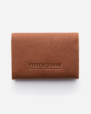 Stitch & Hide Ava Mini Wallet with Key Clip