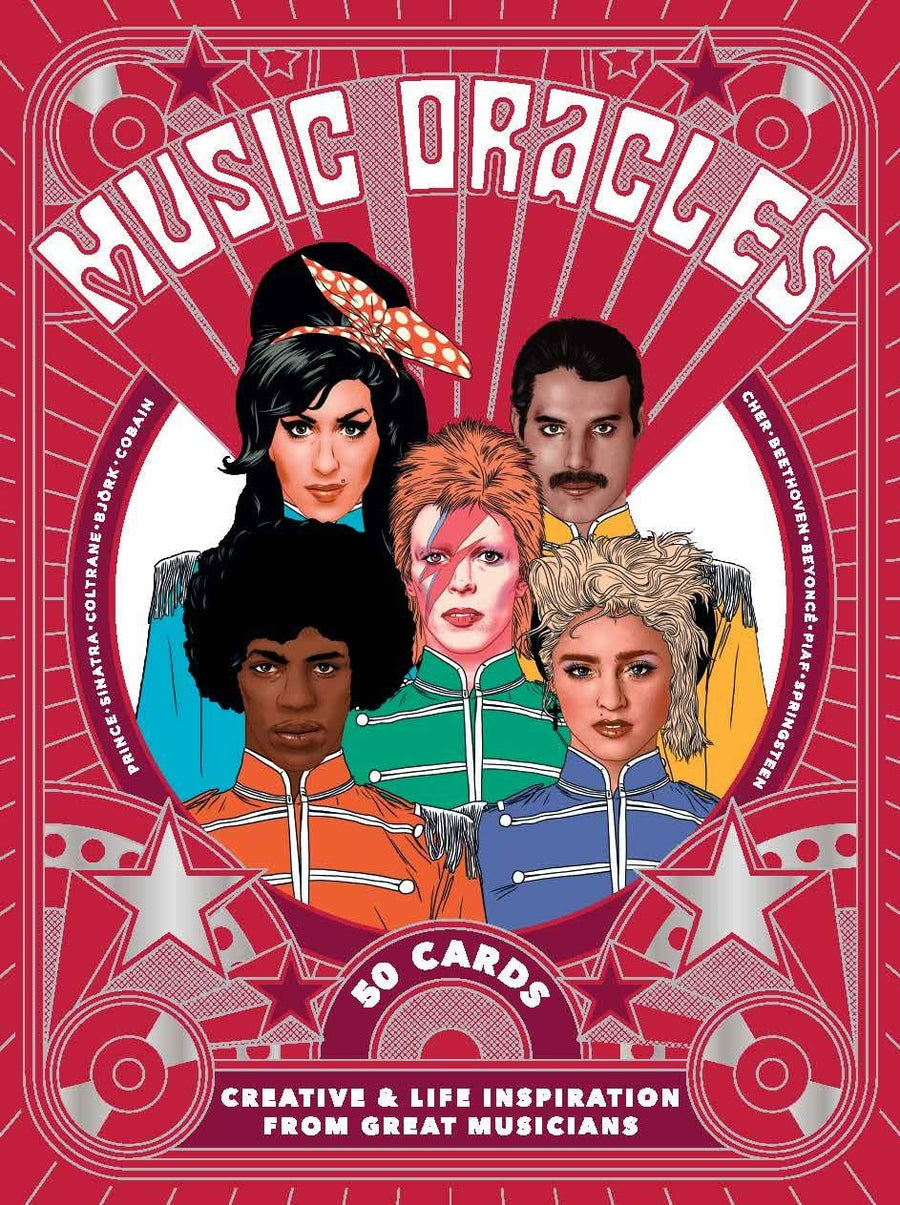 Music Oracles Creative and Life Inspiration from 50 Musical Icons // Cards