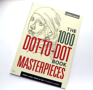 The 1000 Dot-to-Dot Book - Masterpieces