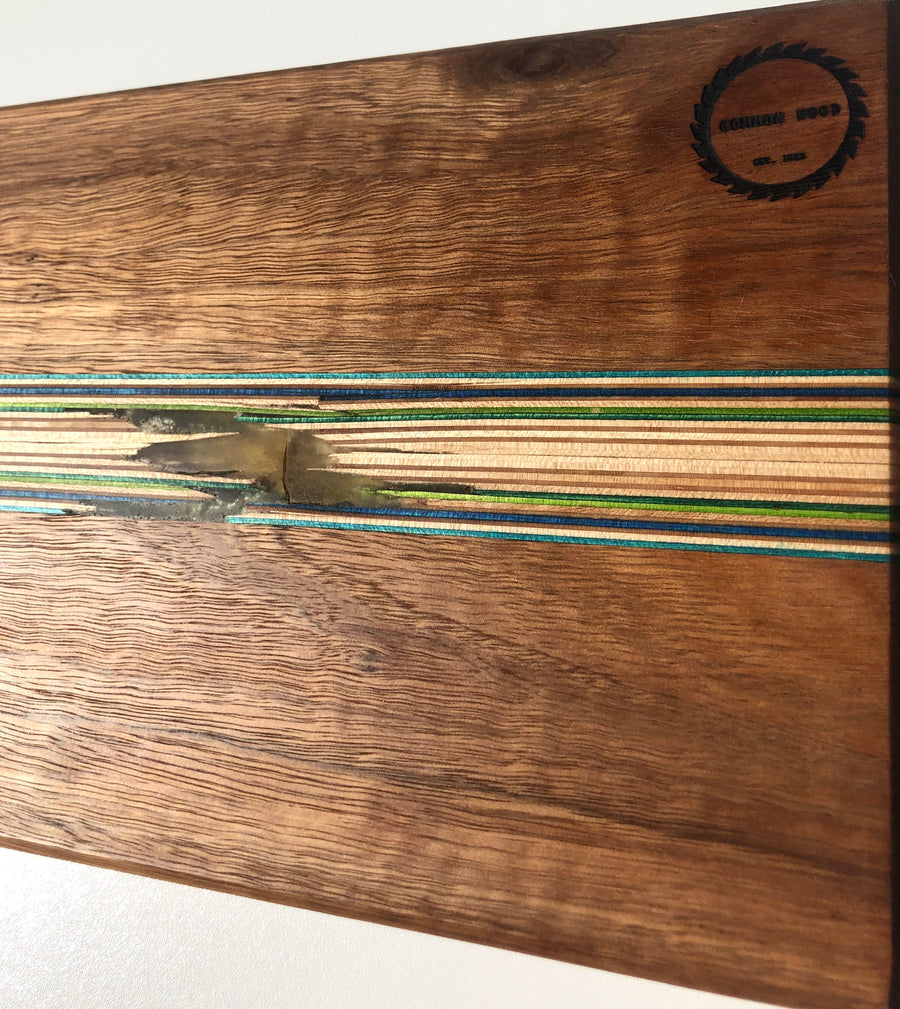 Common Wood Co Bolt Serving Board