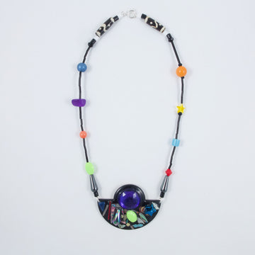 Maraca + Graffiti Ore One Of A Kind Necklace