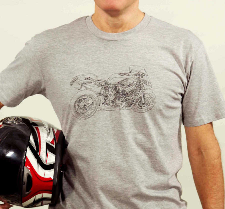 Hunters of Cool Motorcycle Science // Grey